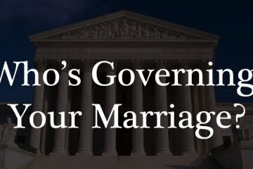 Who is governing your marriage