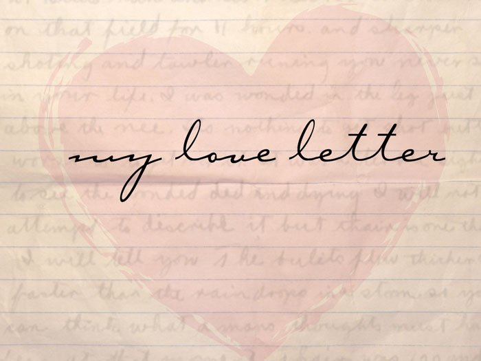 My Love Letter - A Marriage Exercise