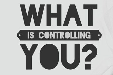 What Is Controlling You