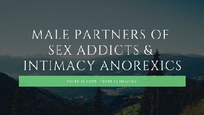 Male Partners of Sex Addicts Group